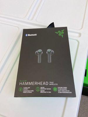 Razer hammerhead true wireless headphones BT for Sale in Chino, CA