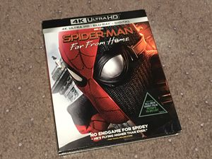 Spiderman Far From Home 4k Bluray complete with digital code for Sale in Pasadena, CA