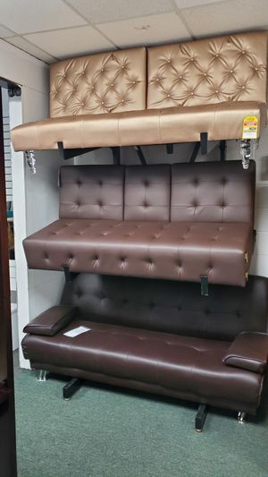Rose gold futon only $199 for Sale in Hawaiian Gardens, CA