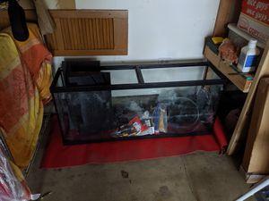 55 gallon fish tank for Sale in Wheaton, IL