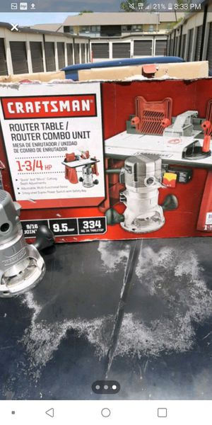 Craftsman router table for Sale in Oklahoma City, OK