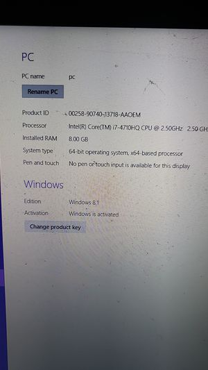 Gaming laptop for Sale in D'Iberville, MS