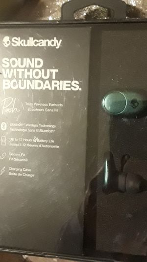 SKULLCANDY PUSH Truly wireless earbuds for Sale in Minneapolis, MN