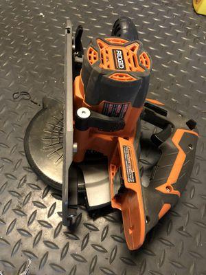 "Ridgid R8651 18V 6-1/2"" (Bare Tool) Circular Saw for Sale in Lynnwood, WA"