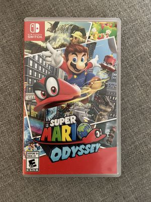 Nintendo switch Super Mario Odyssey for Sale in Sacramento, CA