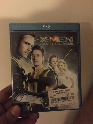 X men first class blue ray for Sale in Columbus, OH