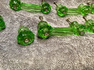 Vintage green glass handles for Sale in Seattle, WA