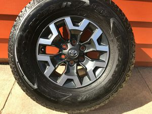 """BRAND NEWSET 16 """" TOYOTA TRD WHEELS/RIMS AND TIRES for Sale in HILLTOP MALL, CA"""