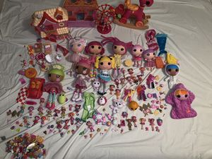 Huge Lot if Lalaloopsy Mini Full Size Dolls Pets Case House for Sale in Chesapeake, VA