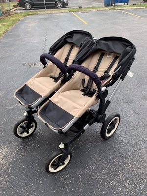 Luxury bugaboo double stroller Donkey for Sale in Evanston, IL