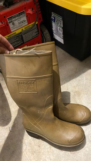 Men's Steel Toes Working Boots Rubber for Sale in Cooper City, FL