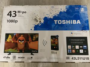 "Toshiba 43"" TV with built in chromecast for Sale in Las Vegas, NV"