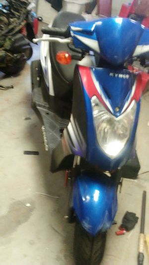 2014 Kymco agility 125 bill of sale only no keys I I lost the keys I'm original owner willing to trade for a car or dirt bike or ATV for Sale in Round Rock, TX