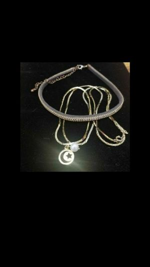Moon & Pearl Necklace set for Sale in North Salt Lake, UT