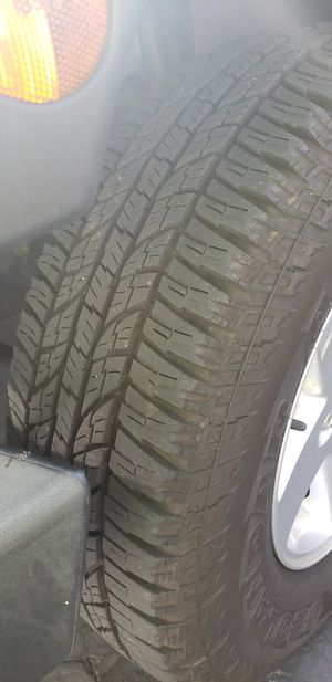 Jeep wheels and tires or seperate for Sale in Warwick, RI