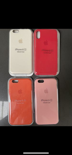 Apple iPhone 6S OEM Silicone Cases-Read for Sale in Paradise Valley, AZ