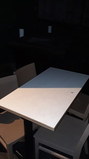 Restaurant sturdy table and 4 chairs for Sale in Tacoma, WA