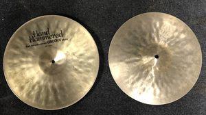 "💥 Sabian 14"" Hand Hammered Manhattan Grove Hi Hat Set 💥 Super Rare Drum Cymbals for Sale in Artesia, CA"