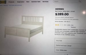 Full size bed FRAME for Sale in Tempe, AZ
