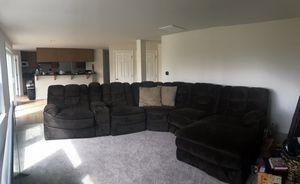 Large Plush Sectional Couch for Sale in Renton, WA