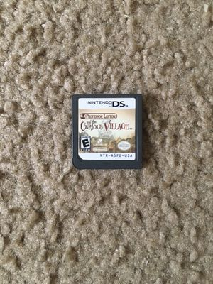 Nintendo DS Game: Professor Layton and the Curious Village for Sale in Encinal, TX