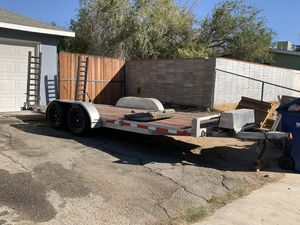 Car hauler 18ft x 7ft for Sale in Palmdale, CA