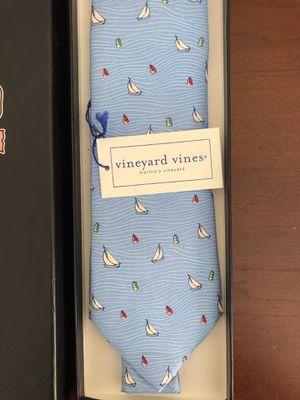 Vineyard Vines blue sailboat men's tie for Sale in Melrose, MA