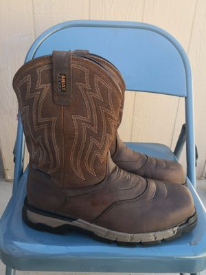 Ariat composite toe work boots size 10EE for Sale in Riverside, CA
