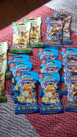 15 Pokemon booster packs for Sale in SeaTac, WA