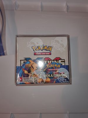 Pokemon sealed evolutions box for Sale in Folsom, CA