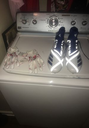 Football gloves and cleats for Sale in Jacksonville, FL