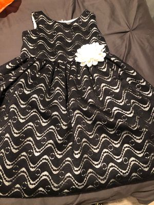 Beautiful black and white girls dress for Sale in Anaheim, CA