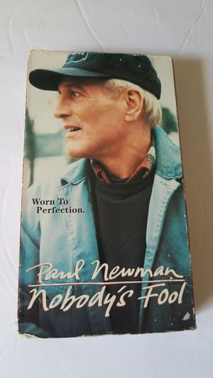 Paul newman nobodys fool vhs movie for Sale in Davie, FL