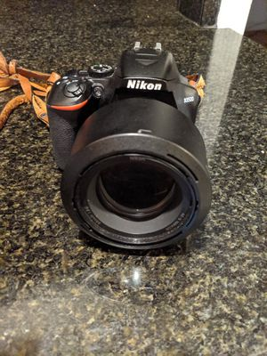 Nikon d3500 and two lenses for Sale in San Francisco, CA