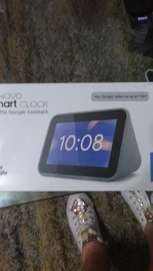 LenovoGOOGLE smart clock new for Sale in Jacksonville, FL