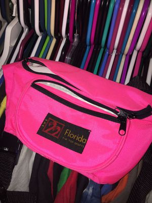 Vintage hot pink women's fanny pack waist bag for Sale in Rutherfordton, NC
