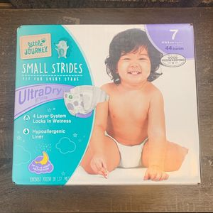 2 boxes Of Size 7 Diapers for Sale in Philadelphia, PA
