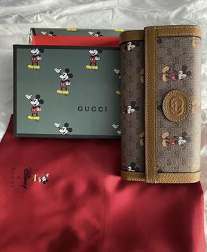 Disney Gucci wallet for Sale in Germantown, MD