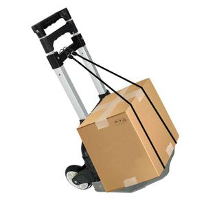 176lbs Cart Folding Dolly Push Truck Hand Collapsible Trolley Luggage Aluminium for Sale in Lake Elsinore, CA