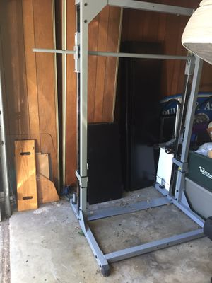 Weightlifting press Really really heavy duty 100 cash 💵 for Sale in Austin, TX