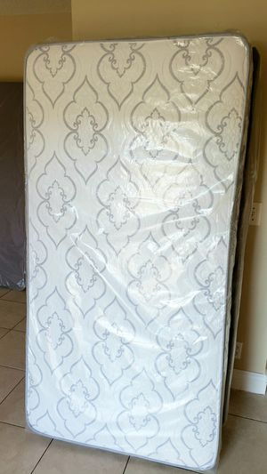New TWIN size mattress, & BOX spring. Bed frame not included on offer for Sale in West Palm Beach, FL
