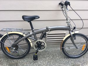 Citizen Miami fold up bike with travel bag for Sale in Renton, WA