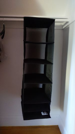 Hanging closet organizer for Sale in Malden, MA