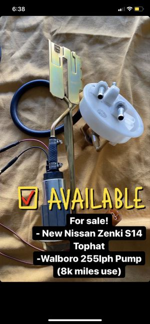 Nissan 240SX S14 Fuel Pump/Top Hat for Sale in Pomona, CA