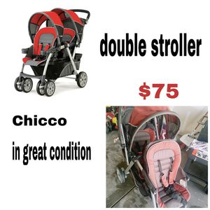 Double stroller for Sale in Colorado Springs, CO