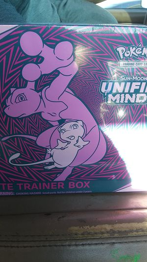 POKEMON SUN AND MOON UNIFIED MINDS. ELITE TRAINERS BOX for Sale in Modesto, CA