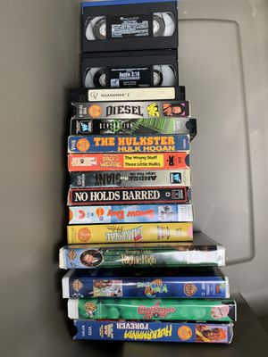 VHS tapes for Sale in Allentown, PA