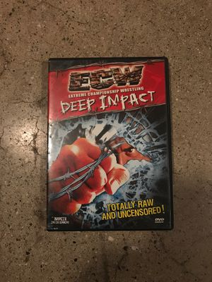 ECW DEEP IMPACT WRESTLING DVD 90'S for Sale in West Covina, CA