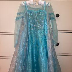 Disney castle collection Elsa dress for Sale in San Jose,  CA