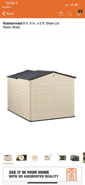 Slide top shed for Sale in Atlanta, GA